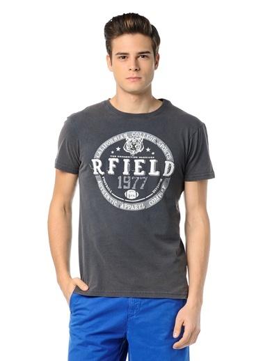 Baskılı Tişört-Routefield